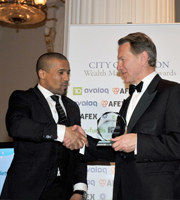 Awards ceremony 15th March 2012, Mansion House London