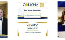 Best Market Newsletter 2020 & 2021 - COLWMA awards